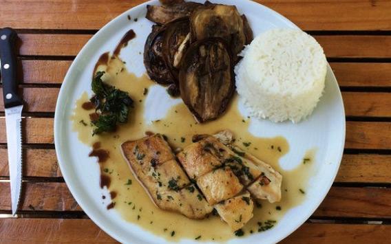 Photo d'un plat